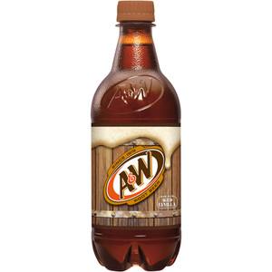 A&W Root Beer, 20.0 oz. Bottle (1 Count)