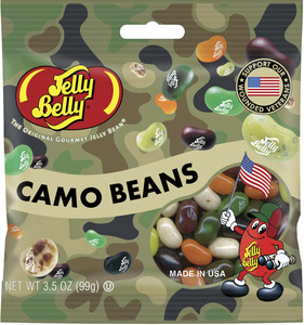 Jelly Belly, Camo Beans, 3.5 oz. Bag (1 Count)