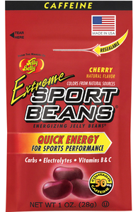 Jelly Belly, Extreme Sport Beans, Cherry - 1.0 oz. (24 Count)