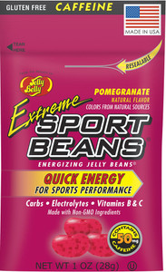 Jelly Belly, Extreme Sport Beans, Pomegranate - 1.0 oz. (24 Count)
