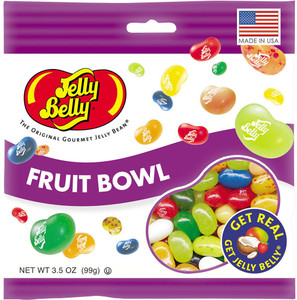 Jelly Belly, Fruit Bowl, 3.5 oz. Bag (1 Count)