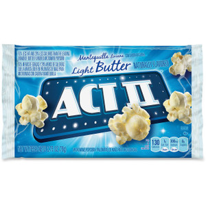 ACT II Popcorn Light Butter, 2.75 oz. Microwavable Bag (1 Count)