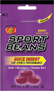 Jelly Belly, Sport Beans, Berry - 1.0 oz. (24 Count)