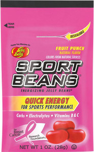Jelly Belly, Sport Beans, Fruit Punch - 1.0 oz. (24 Count)