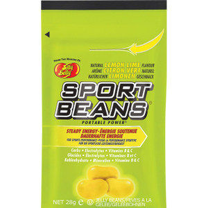 Jelly Belly, Sport Beans, Lemon Lime - 1.0 oz. (24 Count)
