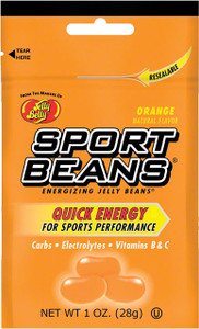 Jelly Belly, Sport Beans, Orange - 1.0 oz. (24 Count)
