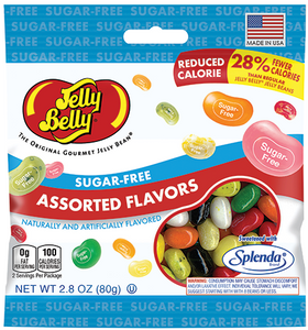 Jelly Belly, Sugar Free Assorted Flavors, 2.8 oz. Bag (1 Count)