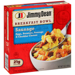 Jimmy Dean, Breakfast Bowls, Sausage, 7.0 oz. (1 Count)