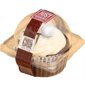 Just Desserts Cupcake, Cookies and Cream, 4.4 oz. (6 Count)