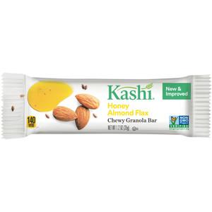 Kashi Chewy Granola Bar, Honey Almond Flax, 1.2 oz. Bars (12 Count)