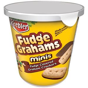 Keebler Fudge Grahams Cookies, Cup on the Go, 2.8 oz. (1 Count)
