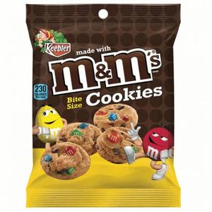Keebler, M&M's Bite Size Cookies, 1.6 oz. Peg Bag (1 Count)