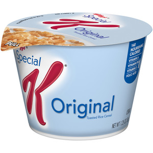 Kellogg's Cereal in a Cup, Special K, 1.3 oz. Bowl (1 Count)
