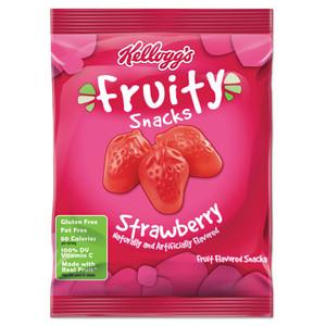 Kellogg's Fruity Snacks, Strawberry, 2.5 oz. (1 Count)