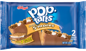 Kellogg's pop-tarts, Frosted S'mores, 2-3.67 oz. Pastries (6 Count)