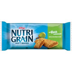 Kellogg's, Nutri-Grain Cereal Bar, Apple Cinnamon, 1.3 oz. Bars (8 Count)