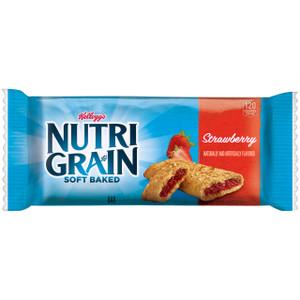 Kellogg's, Nutri-Grain Cereal Bar, Strawberry, 1.3 oz. Bars (8 Count)