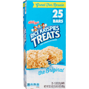 Kellogg's, Rice Krispies Treats, 1.3 oz. Bars (25 Count)