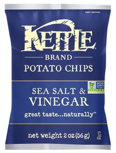 Kettle Brand, Sea Salt and Vinegar, 2.0 oz. Bag (1 Count)