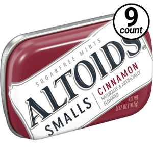 Altoids Smalls, Cinnamon , 0.37 oz. Tins (9 Count)
