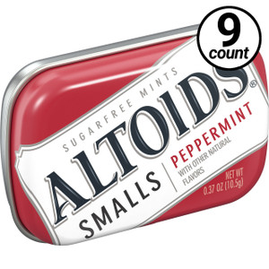 Altoids Smalls, Peppermint, 0.37 oz. Tins (9 Count)