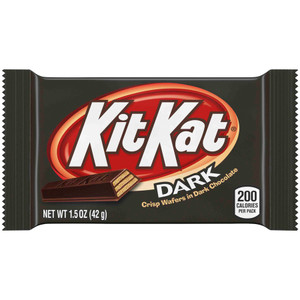 Kit Kat Crisp Wafers in Dark Chocolate, 1.5 oz. (24 Count)