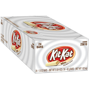 Kit Kat Crisp Wafers in White Chocolate, 1.5 oz. (24 Count)