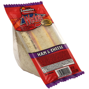 Landshire, Mom's Ham & Cheese Club Wedge, 6 oz. (12 Count)