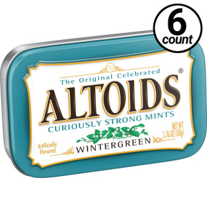 Altoids, Wintergreen, 1.76 oz. Tins (6 Count)