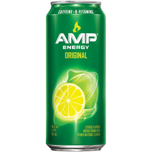 Amp Energy, 16.0 oz. Can (1 Count)