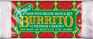 Amy's Kitchen, Bean & Cheese Burrito, 6.0 oz. Entree (1 Count)