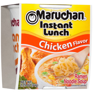 Maruchan, Instant Lunch, Chicken, 2.25 oz. Cup (1 Count)