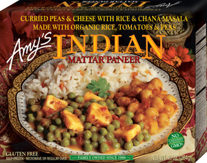 Amy's Kitchen, Indian Mattar Paneer, 10.0 oz. Entree (1 Count)