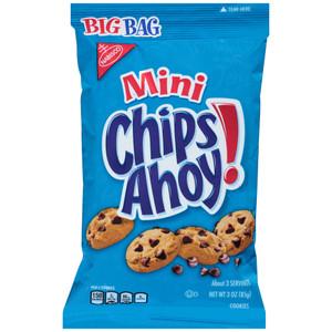 Chips Ahoy!, Mini, 3.0 oz. BIG Bag (1 Count)