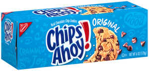 Chips Ahoy!, Real Chocolate Chip Cookies, 6 oz. Convenience Pack (1 Count)