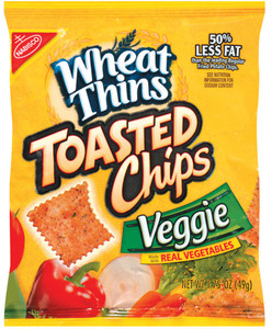 Wheat Thins, Toasted Veggie Chips, 1.75 oz. Bag (1 Count)