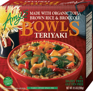 Amy's Kitchen, Teriyaki Bowl, 10.0 oz. Entree (1 Count)