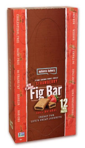 Nature's Bakery, Whole Wheat Fig Bar, Strawberry, 2.0 oz. (12 Count)