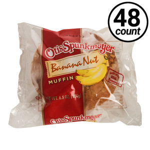 Otis Spunkmeyer Banana Nut Muffin, 6.5 oz. Muffin (48 Count)
