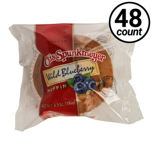 Otis Spunkmeyer Blueberry Muffin, 6.5 oz. Muffin (48 Count)