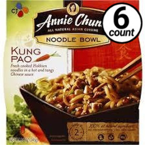 Annie Chun's Noodle Bowl, Kung Pao, 9.1 oz. (6 Count)