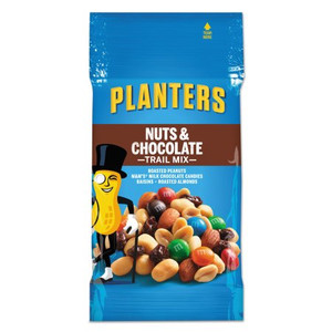 Planters, Trail Mix, Nuts and Chocolate, 2.0 oz. Peg Bag (1 Count)
