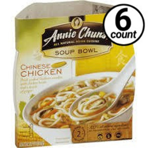 Annie Chun's Soup Bowl, Chinese Chicken, 5.5 oz. (6 Count)