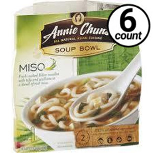 Annie Chun's Soup Bowl, Miso, 5.4 oz. (6 Count)