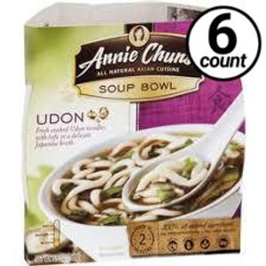 Annie Chun's Soup Bowl, Udon, 5.9 oz. (6 Count)