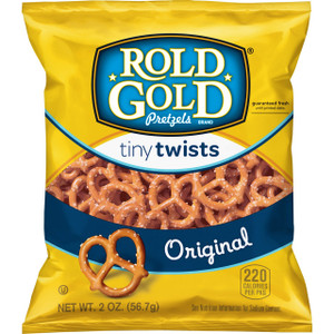 Rold Gold Pretzels, Tiny Twists, 2.0 oz. Bag (1 Count)
