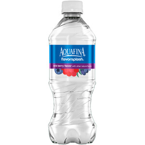 Aquafina FlavorSplash Water, Berry, 20.0 oz. Bottle (1 Count)