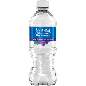 Aquafina FlavorSplash Water, Grape, 20.0 oz. Bottle (1 Count)