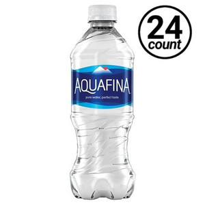 Aquafina Water, 20 oz. Bottles (24 Count Case)