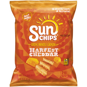 Sunchips Harvest Cheddar, 1.5 oz. Bag (1 Count)